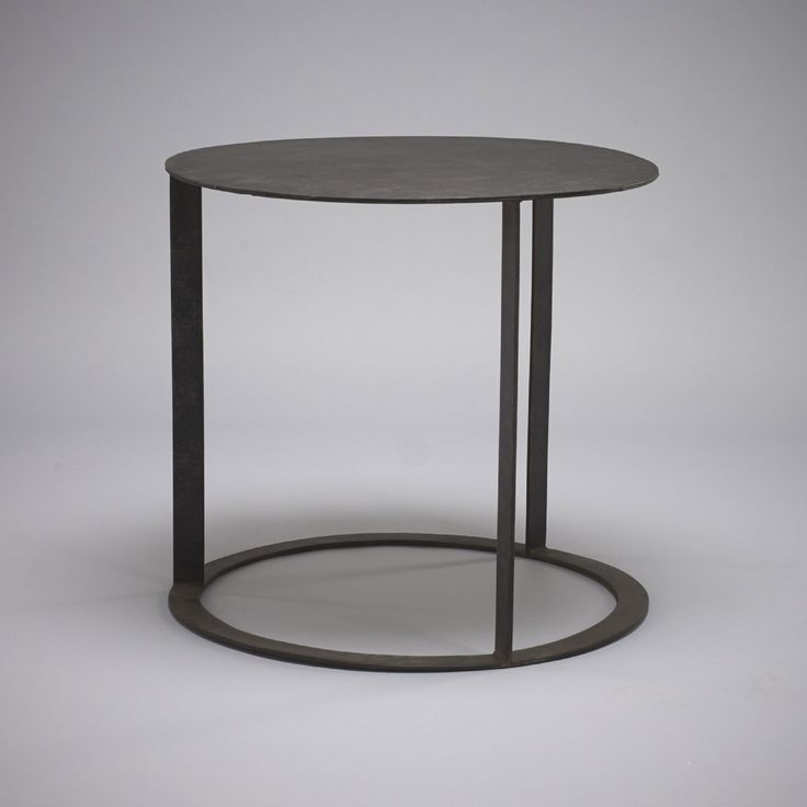 Stock Iron Side Table Kn105 | ROBERT.LANGFORD.LONDON