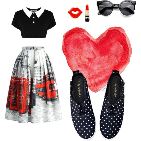 Loly Amelie <3 by lolyinthesky on Polyvore featuring moda, Chicwish and Betsey Johnson