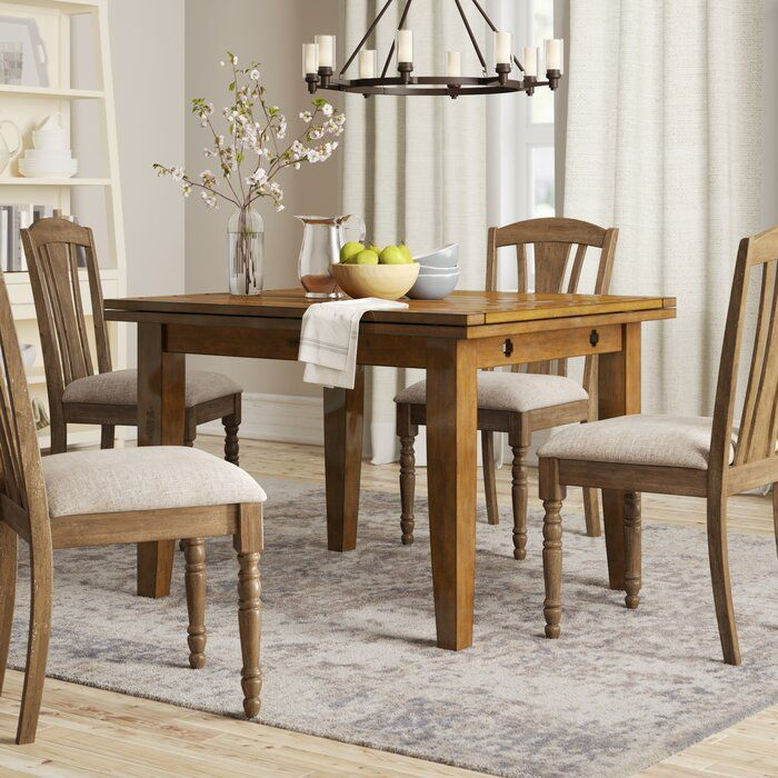 Tinsley Extendable Dining Table Dining Table Solid Wood Dining