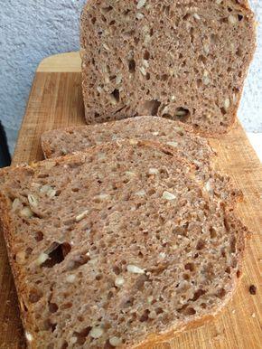 La chica de las recetas: Pan de espelta 100 % integral (el pan de Anna)