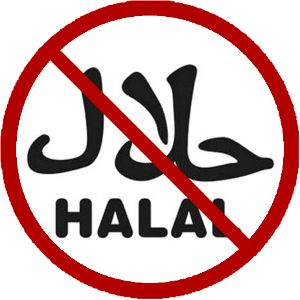 Does Halal Certification Fund Terrorism? The little red sticker | Islam4Infidels