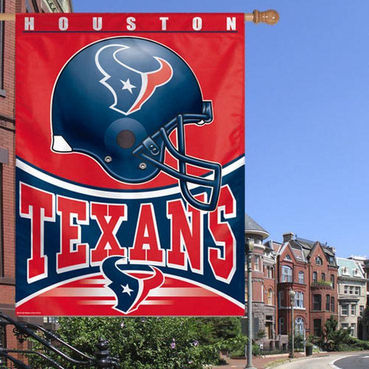 Houston Texans 27'' x 37'' One-Sided Vertical Banner Flag