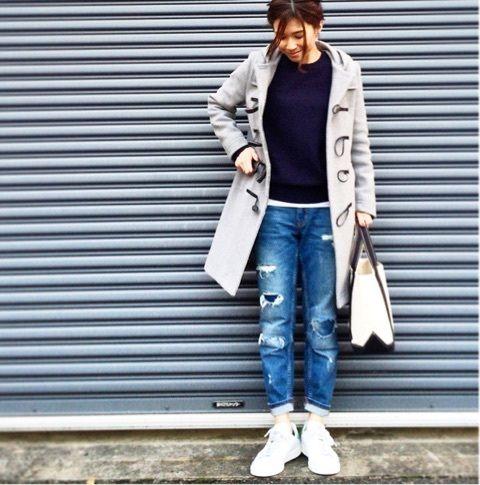 ブラックとグレーダッフルコート♪ の画像|斎藤 寛子オフィシャルブログ 「ひろころ日記」 Powered by Ameba