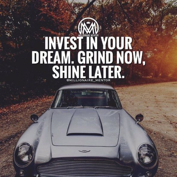 Invest in yourself your dreams because nobody else will do it for you.  #millionairementor  Via: @millionaire_mentor  #entrepreneurs #entrepreneurship #entrepreneurlife #business #businessman #quoteoftheday #businesswoman #businessowner #work #success #working #grind #foundr #startup #money #magazine #moneymaker #cash #startuplife #successful #passion #inspiredaily #hardwork #desire #motivational #motivation #lifestyle #happiness