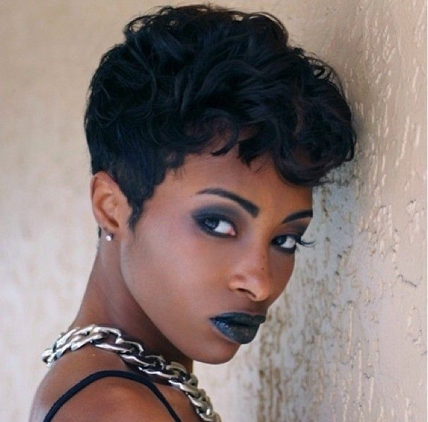 Swell 1000 Images About Short Hairstyles For Black Women On Pinterest Hairstyle Inspiration Daily Dogsangcom