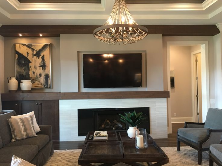 Great Rooms Tampa Part - 39: Asheville Plan, Great Room Fireplace