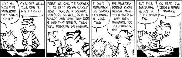 Calvin and Hobbes Comic Strip, September 15, 2014 on GoComics.com