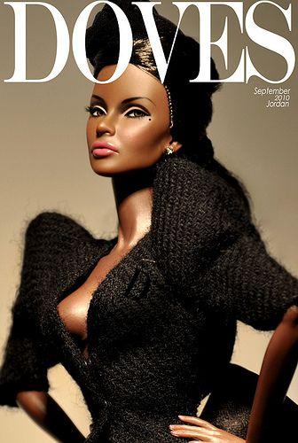 Doves Magazine Barbie.