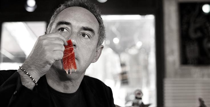 The Top chef recognize Joselito as the Best Jamon in the world... Ferran Adria