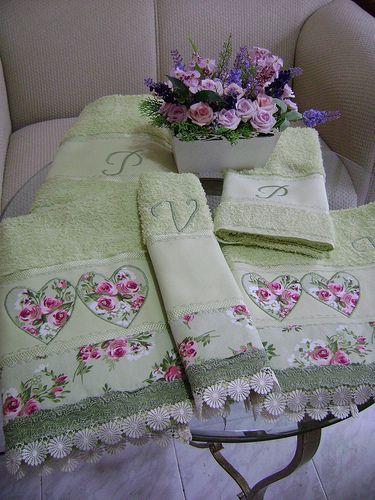 jogo de toalha completo | Flickr - Photo Sharing!