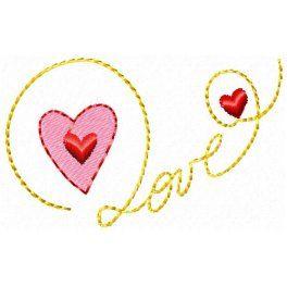 palavra love para bordar - Pesquisa Google