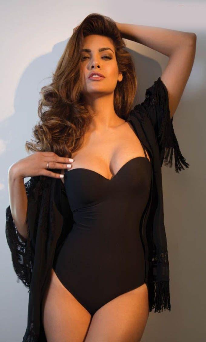 Esha Gupta in sexy swimwear inFHM India