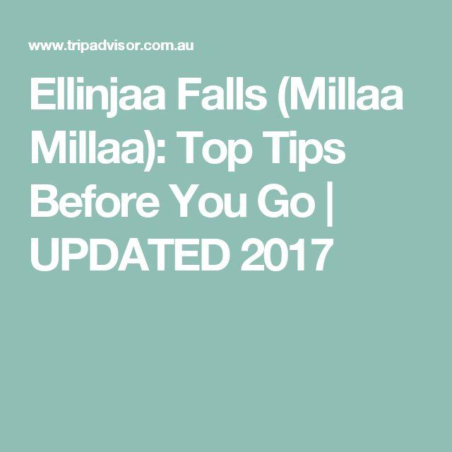 Ellinjaa Falls (Millaa Millaa): Top Tips Before You Go | UPDATED 2017