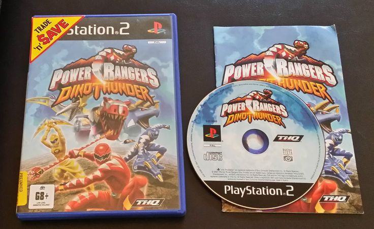 Power rangers dino thunder ps2 game PlayStation 2 - PAL - FREE Postage