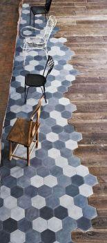 patchwork de carreaux de ciment