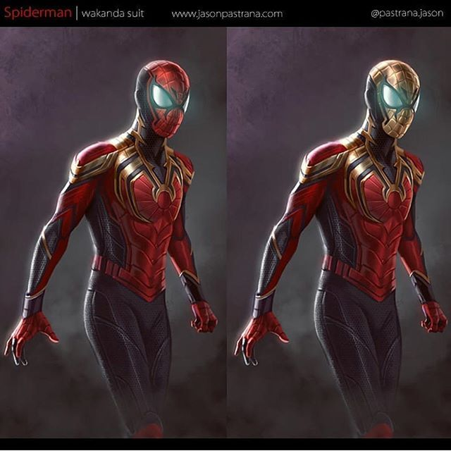 Spider Man Infinity War Fan Art Would You Like To See This Suit