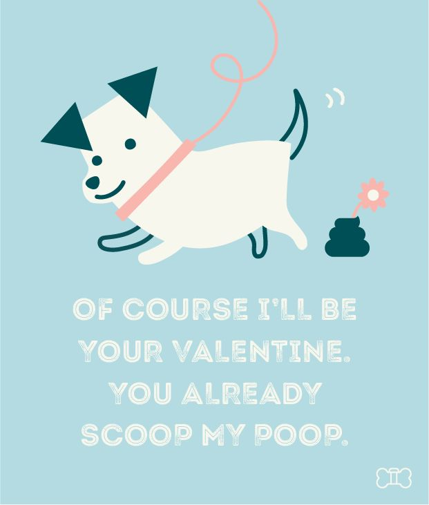 15 best Printable Dog Valentine Cards images on Pinterest  Baby
