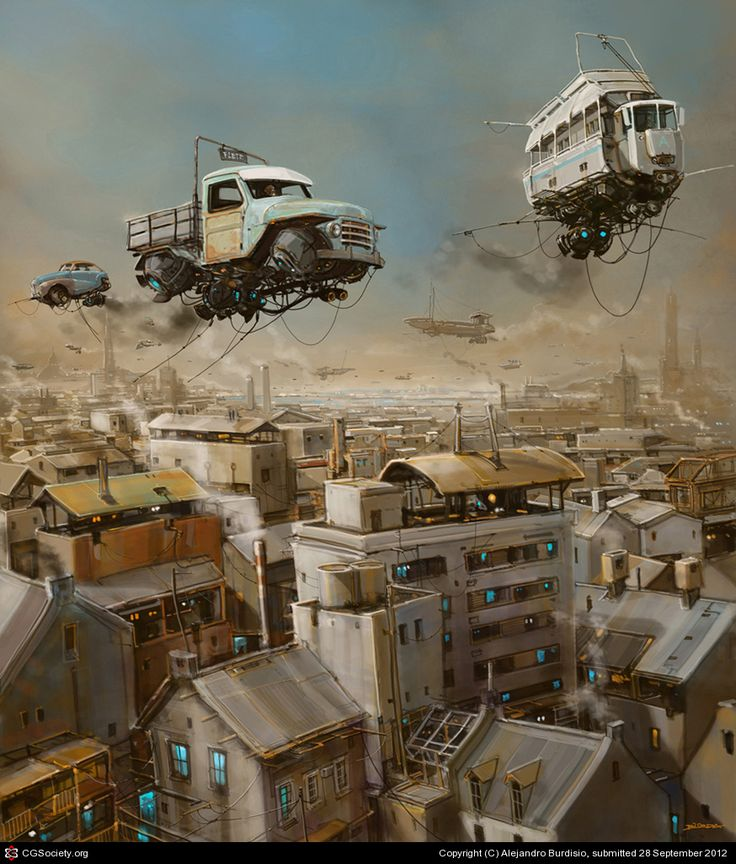'Ciudad Chatarra' by Alejandro Burdisio