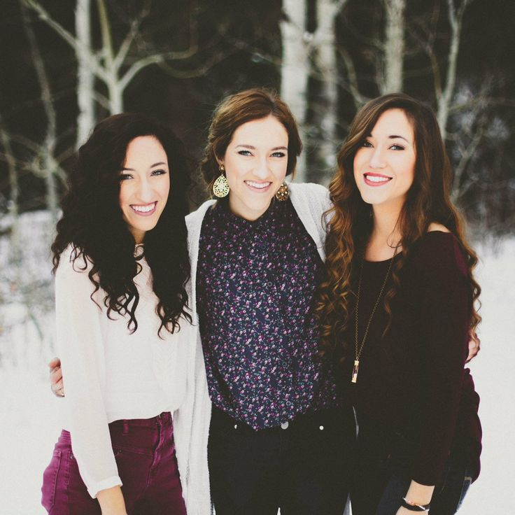 Gardiner Sisters   so beautiful & talented. They are the only reason why I have a Pinterest!