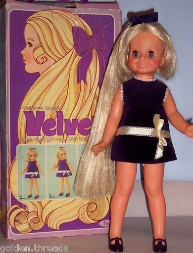 Ideal doll Velvet.....growing hair