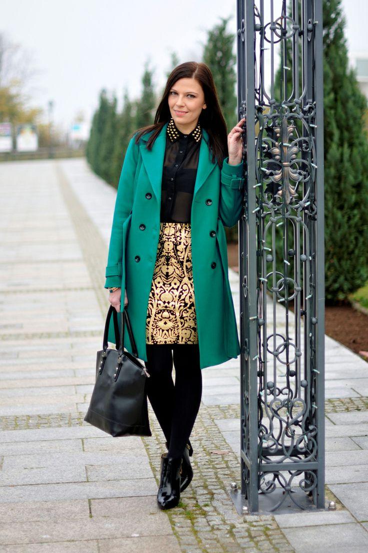 Addicted to Fashion - płaszcz DanHen z kolekcji jesień/zima 2012 #danhen #moda #płaszcze #streetstyle