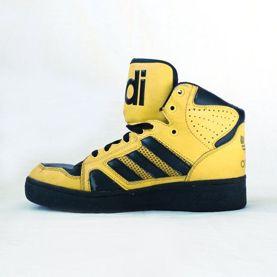 Vintage adidas, Leather sneakers