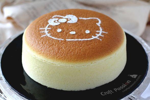 Cuma Dengan 3 Bahan Ini Cara Bikin Japanese Cotton Cheese Cake Enak Resep Kue Keju Memanggang Kue Makanan