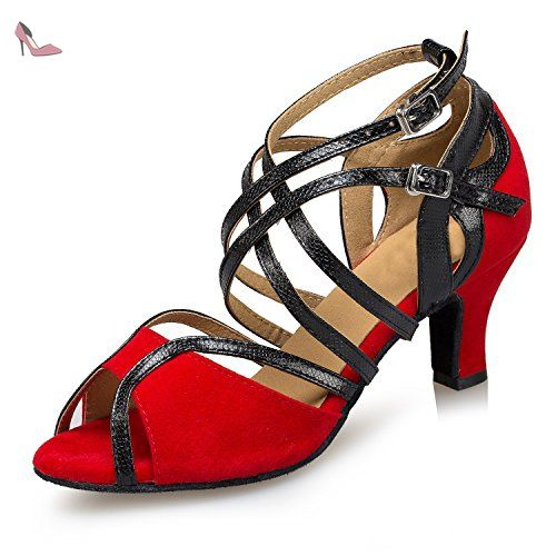 Minitoo , Jazz & Modern femme - rouge - Red-6cm Heel, 38 - Chaussures minitoo (*Partner-Link)