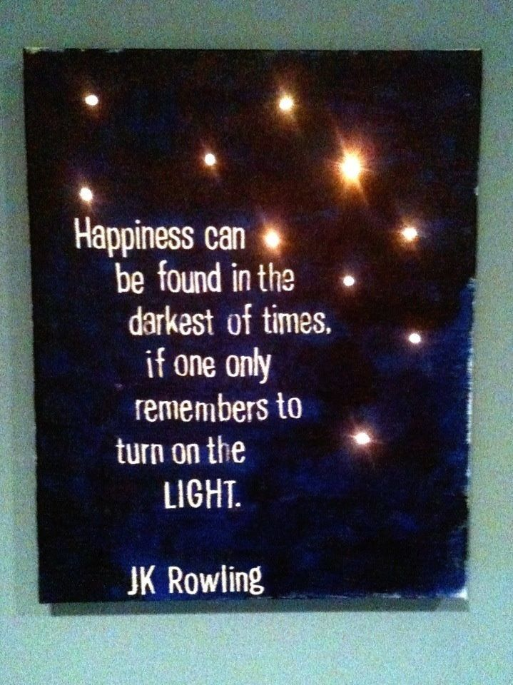 My first tutorial on my blog- Quote on Canvas with lights