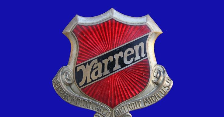 There were at least six car makers in the USA using the name WÁRREN.  Here I present the emblem of the WARREN Motor Car Company of Detroit p...