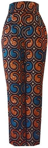♥African Print Cigarette Pants #AfricanFashion