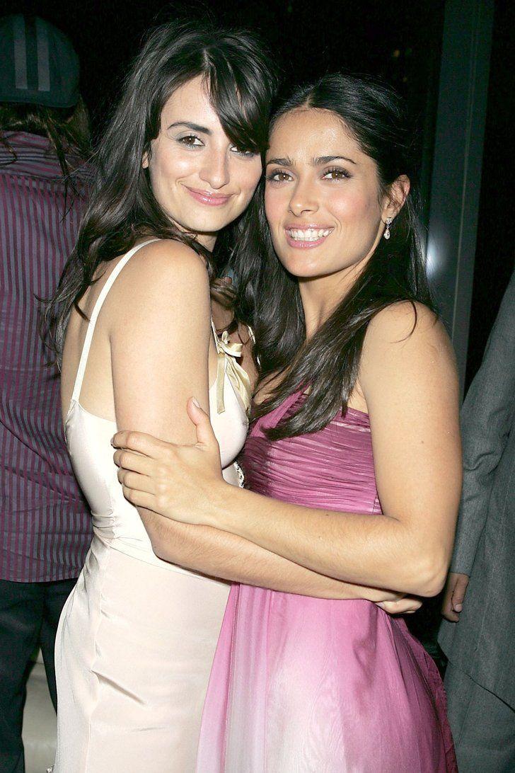 17 Times Salma Hayek and Penélope Cruz Showed Us All What True Friendship Looks Like