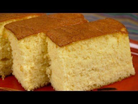 ▶ Castella (Kasutera Sponge Cake Recipe) カステラ 作り方レシピ - YouTube