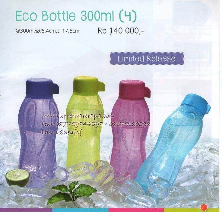 Katalog Tupperware Promo Agustus 2014 - Eco Bottle 300ml