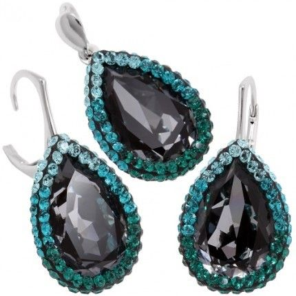 Set bijuterii de lux cuc ristale swarovski http://www.bijuteriifrumoase.ro/cumpara/frame-crystallized-pear-f-18-18-gl-d-lvbck-2720