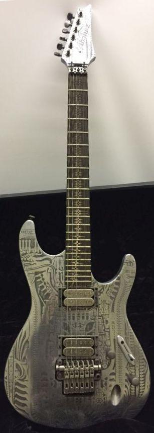 Ibanez 2006 H.R. Giger signature Alien Ltd Edition electric guitar.