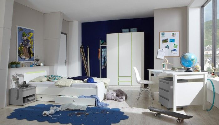 Svěží barevná kombinace dětské programu Bibi vás zaujme designovou lehkostí, díky které budete mít dostatek prostoru k vlastní realizaci. Dětský pokoj není...