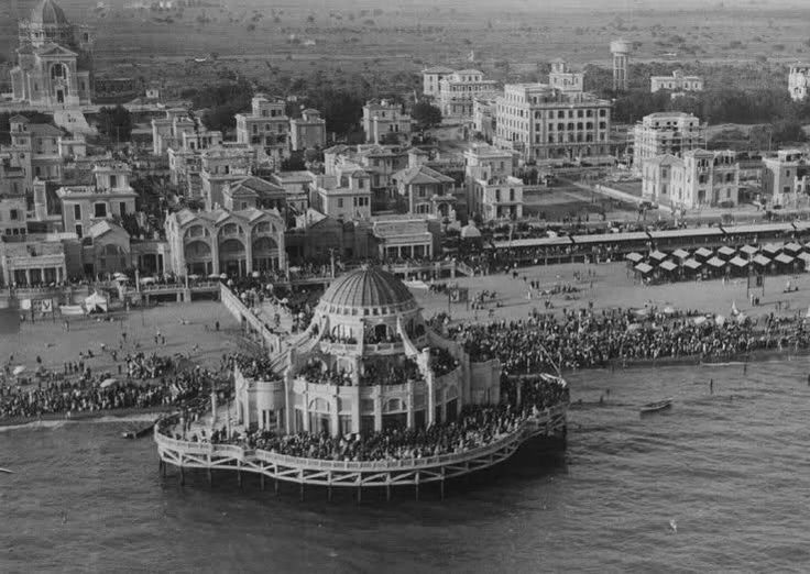 Roma Stabilimento Roma a Ostia Lido nel 1924, poi abbattuto durante la guerra.