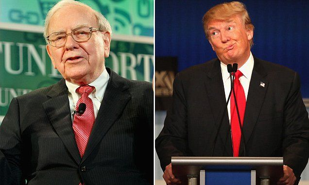 Warren Buffett hits back at Trump's claim of 'massive tax deduction'