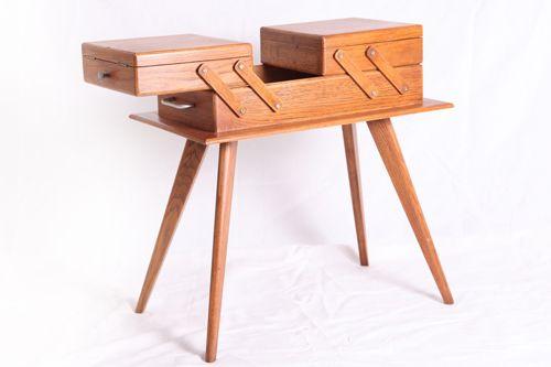 Travailleuse Design années 50 #travailleuse #design #vintage #scandinave #1950