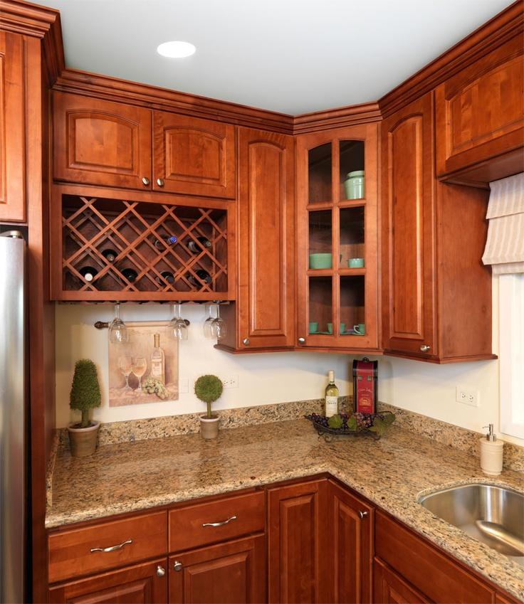 Cognac Maple Noticing Hardware Kitchens Pinterest
