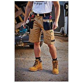 Site Hound Multi-Pocket Shorts Khaki / Black 34
