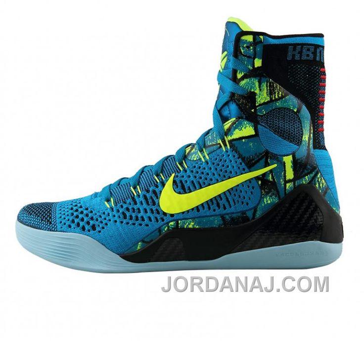 finest selection b5f77 02efb Nike Kobe 9 Low Light Blue White Gold Basektball Sneakers Cheap Sale  httpwww.jordanaj.comnike-kobe-9- ...