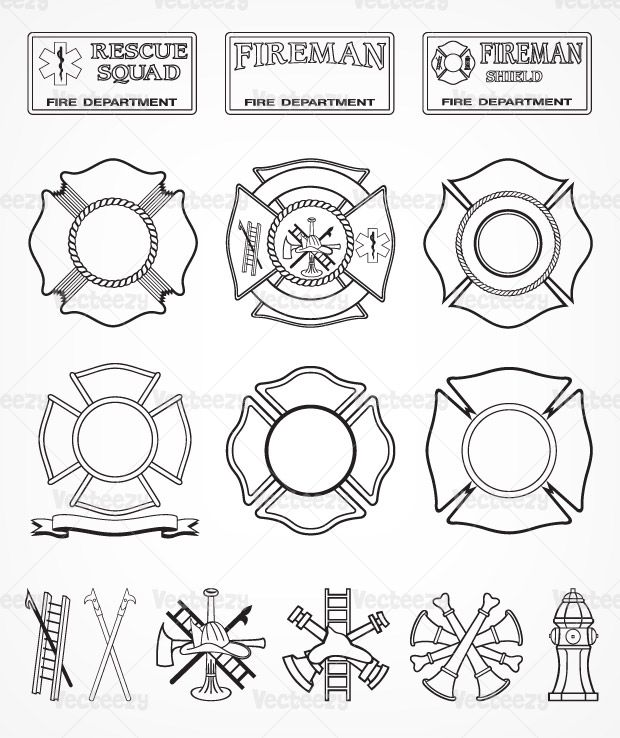 Fire Engine clip art - vector clip art.