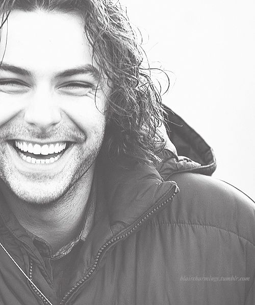 Aidan Turner....so happy he got more screen time in The Desolation of Smaug!
