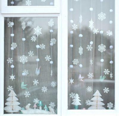 НАША СТРАНА МАСТЕРОВ: Новогоднее украшение окон: создай дома атмосферу п...