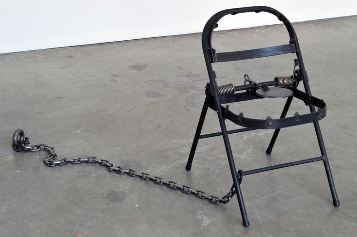 ufansius: Progress Trap (Chair No.1) - Maskull Lasserre
