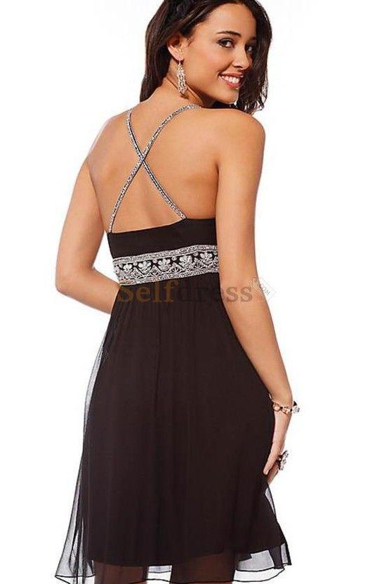 summer dresses with belts   Appliques Apple Beaded Belt Summer Empire Waist Prom/ Cocktail Dress