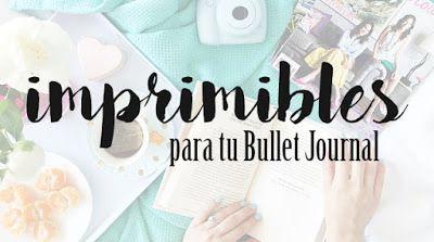 La Boheme Gamine IMPRIMIBLES GRATIS para tu Bullet Journal