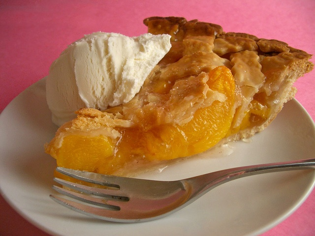 There is nothing better in this world than homemade peach pie!